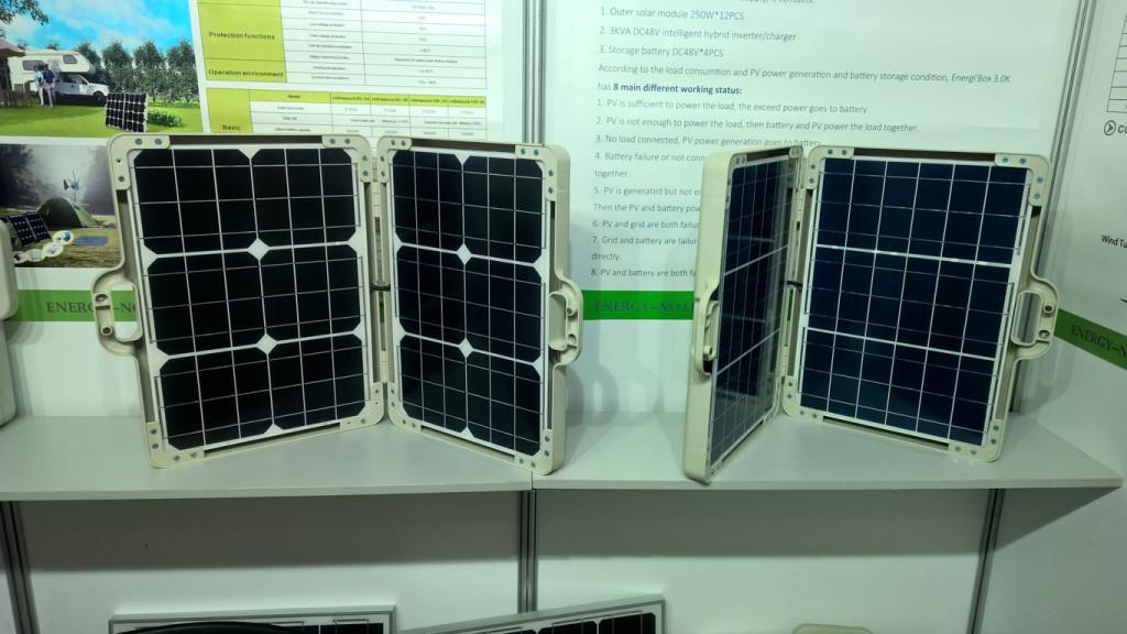 Mobilní solární systémy