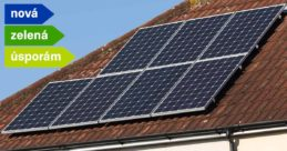 Dotace Nová zelená úsporám na fotovoltaické panely