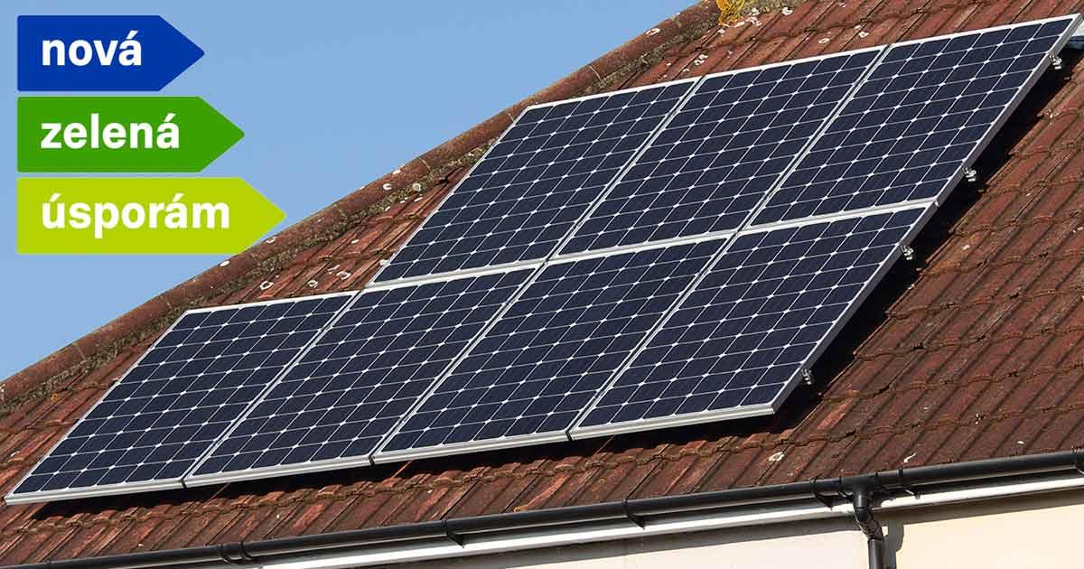 Dotace Nová zelená úsporám na fotovoltaiku