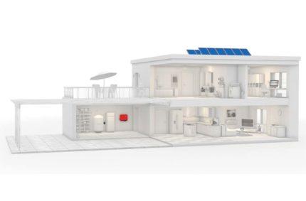Fotovoltaická elektrárna s akumulací do teplé vody