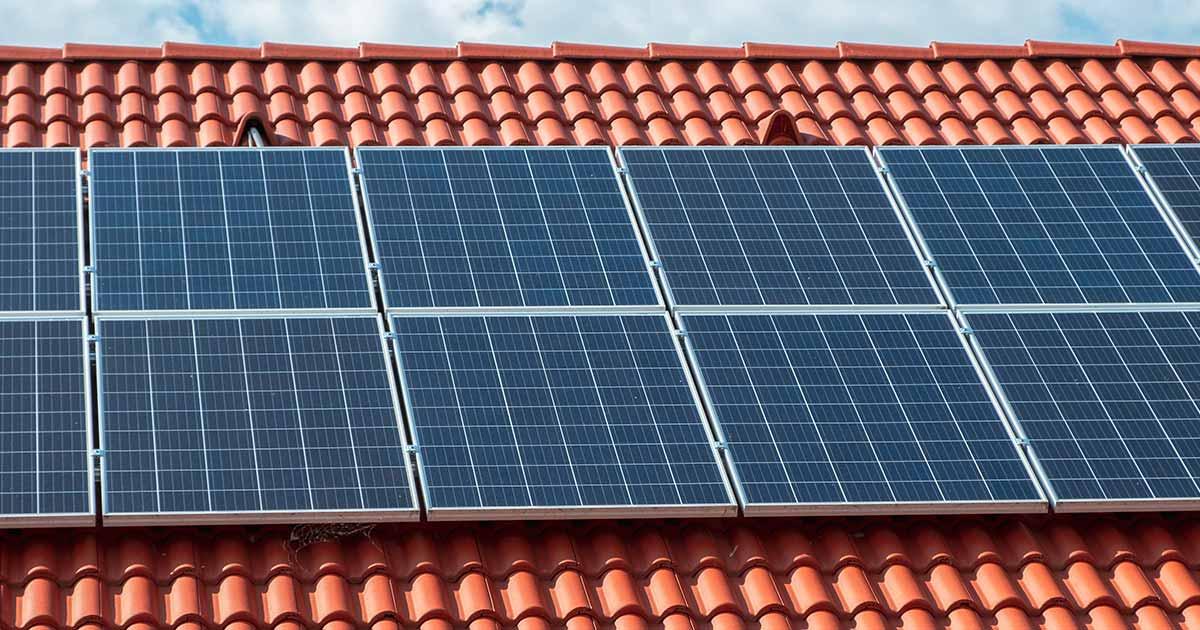 Fotovoltaická elektrárna s ohřevem TUV o výkonu 2,7 kWp