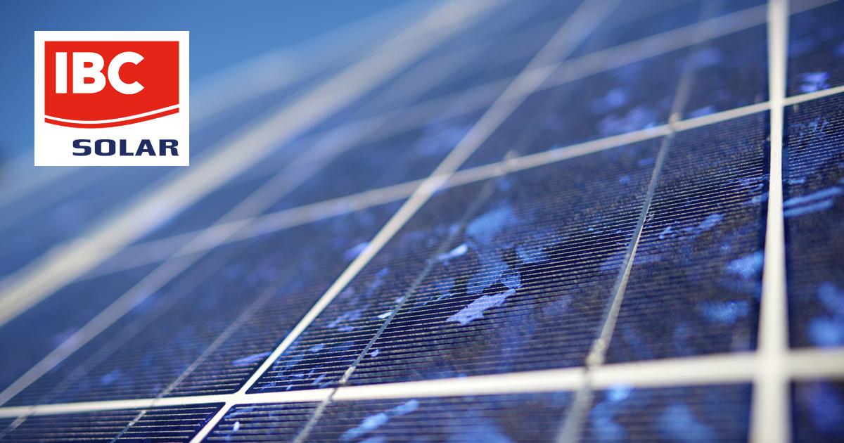 Produkt - solární panel IBC PolySol 260CS