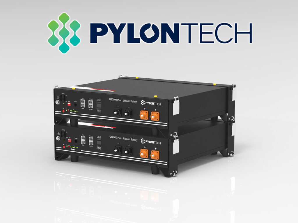 Lithiová (LiFePO4) baterie PYLONTECH s kapacitou 4,8 kWh