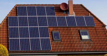 Hybridní solární elektrárna 3,58 kWp s baterií