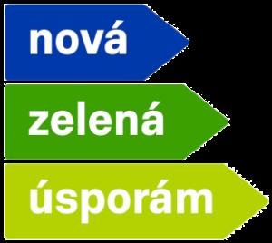 Nová zelená úsporám logo